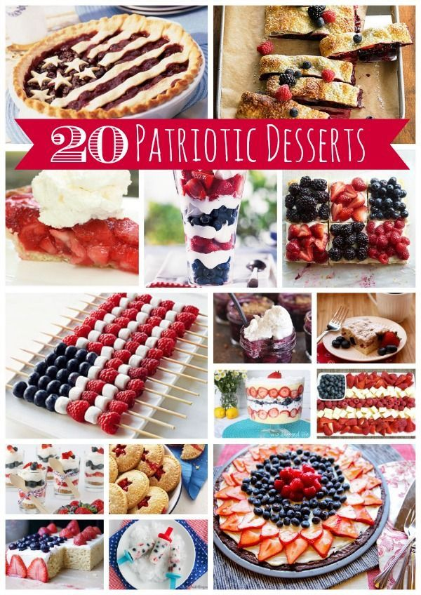fourth of july pudding cake