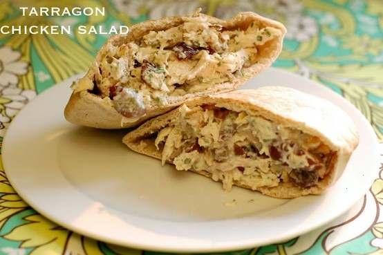 TARRAGON CHICKEN SALAD | food | Pinterest