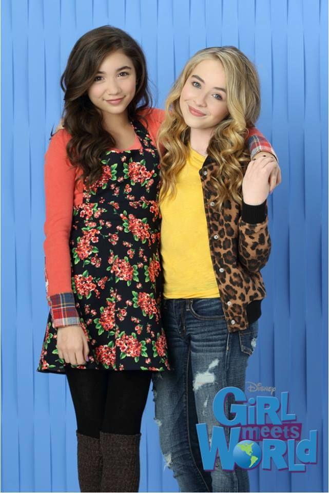 Rowan Blanchard and Sabrina Carpenter #GirlMeetsWorld | Girl Meets ...
