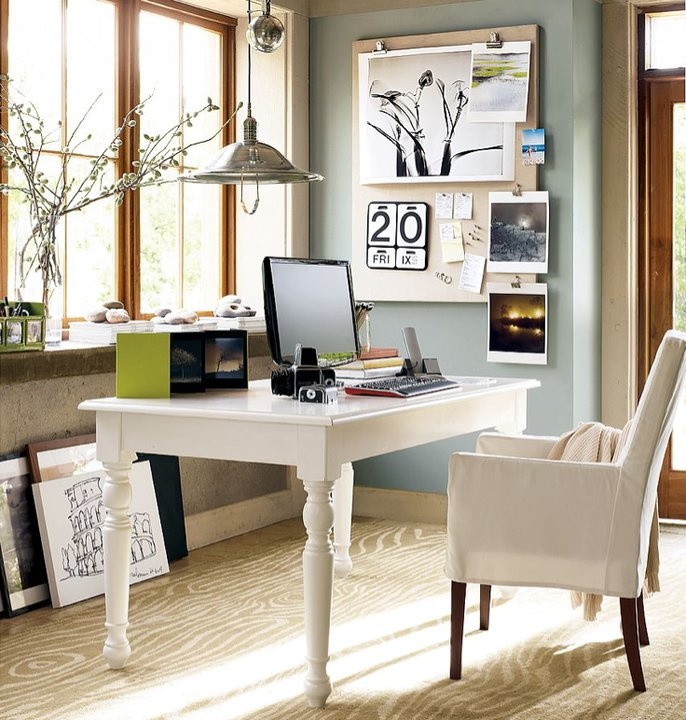 Bright Fresh Office Space HOME My FAVORITES Pinterest