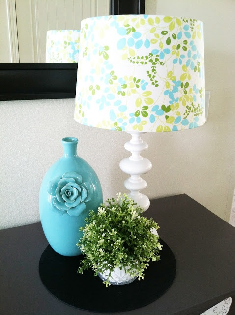 My Cotton Creations: fabulous DIY fabric lamp shade
