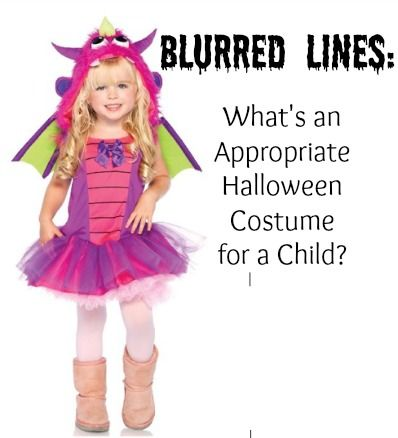 Blurred Lines: What's an Appropriate Halloween Costume for a Child?