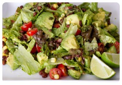 Chicken And Avocado Salad With Lime And Cilantro Recipes — Dishmaps