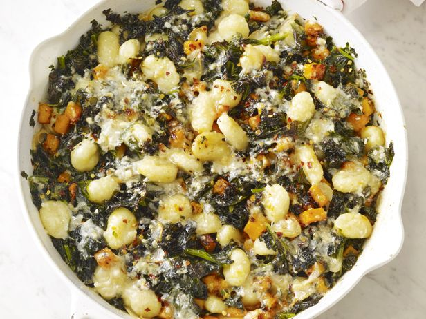 Gnocchi With Squash and Kale from FoodNetwork.com