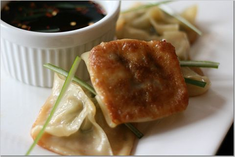 Pork & Shrimp Pot Stickers   food   Pinterest