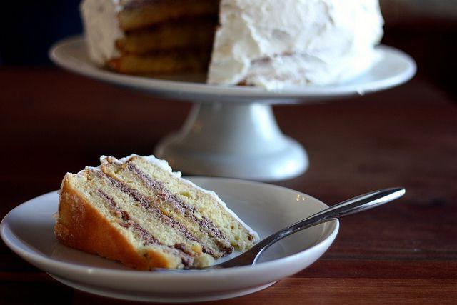 cassata cake (Italian sponge cake with cannoli-like filling) by Elly ...