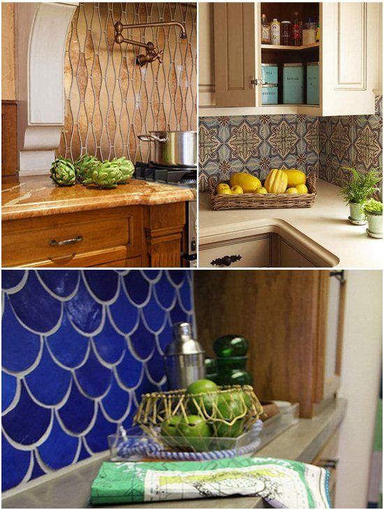 Unique Kitchen Backsplah Tile Backsplash Ideas Pinterest