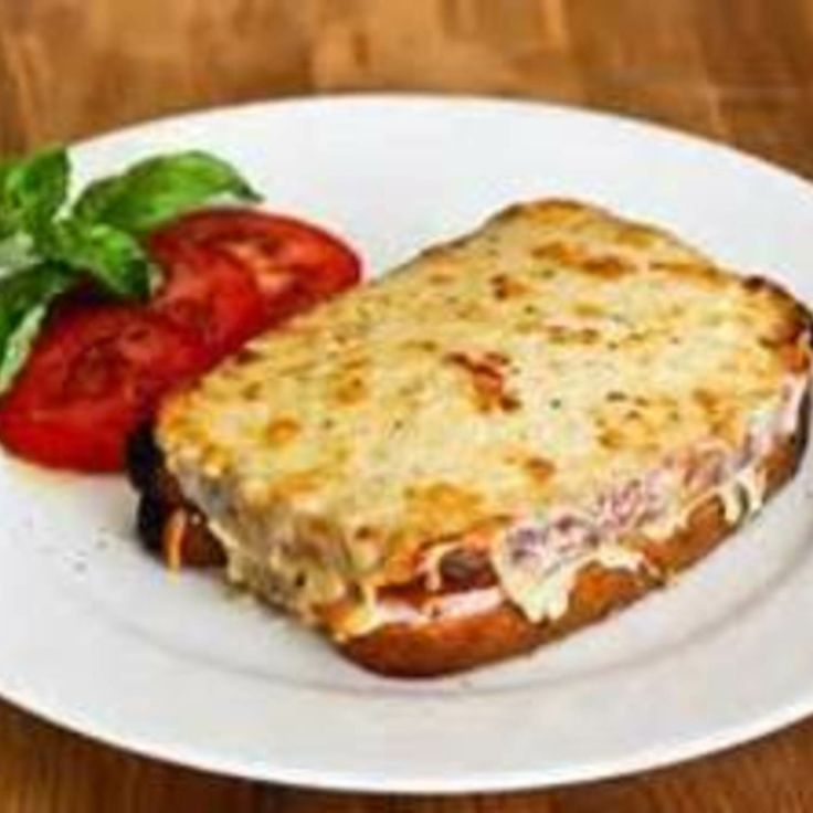 Hearty Ham and Cheese Sandwich(Croque Monsieur) Recipe | Just A Pinch ...