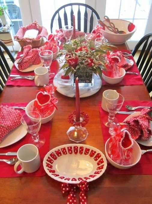 Pinterest for Table design for valentines day