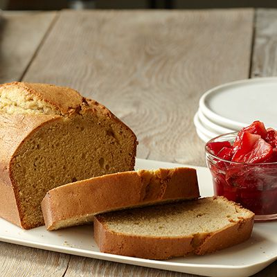 Cake with Strawberry Rhubarb Compote Recipe-Watermelon Mint Iced Tea ...