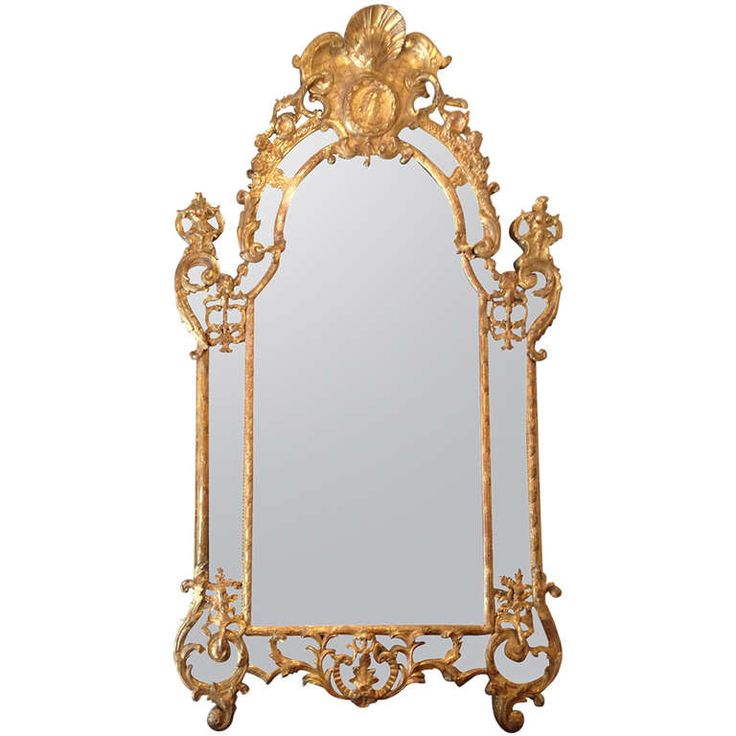 18th c. French Régence Mirror | From a unique collection of antique