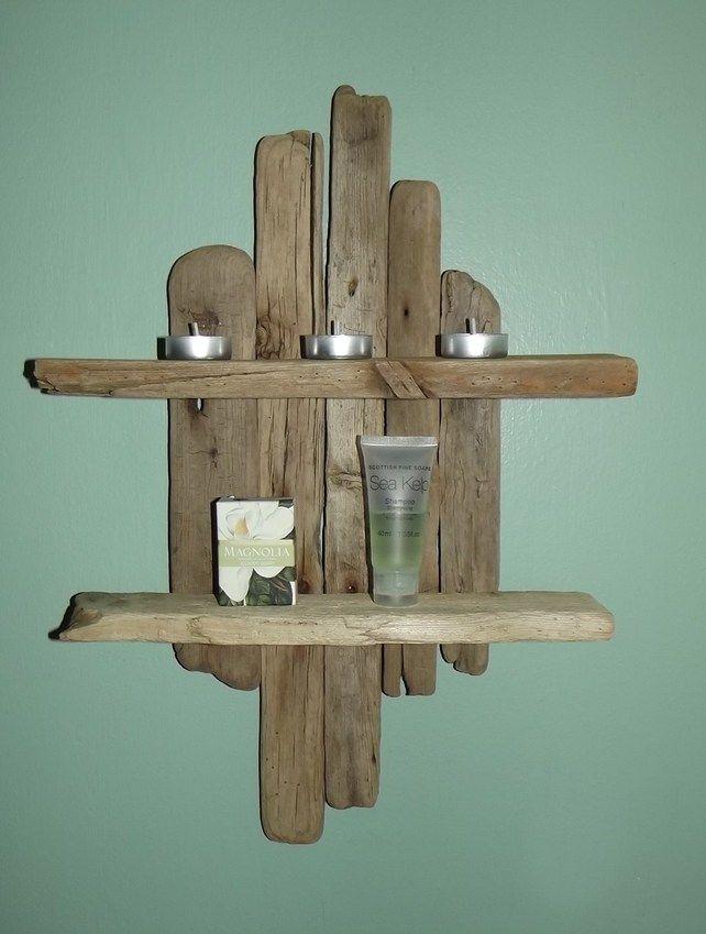 Driftwood shelves for Easy way to make shelves