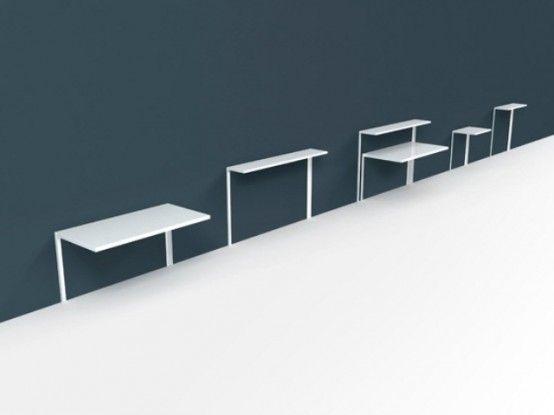 meja kerja mungil untuk ruang minimalis
