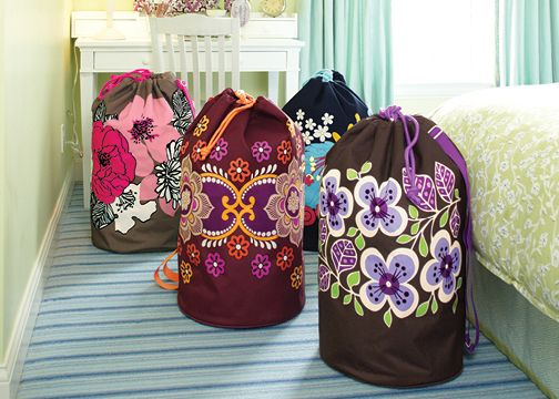 Vera Bradley Laundry Bags...So cute!