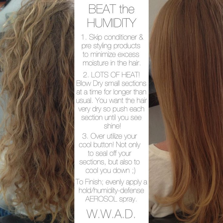 W.W.A.D. - How to defend against humidity! Hair Style Tip to do on your own.