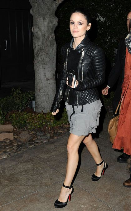 Love the burberry leather biker jacket, the louboutins, and I love the