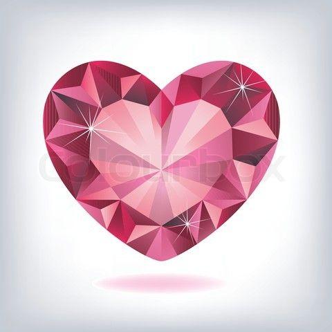 Heart Shaped Diamond T...