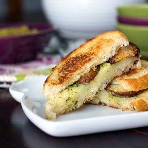 Potato-Pesto-Grilled-Cheese | Food :) | Pinterest