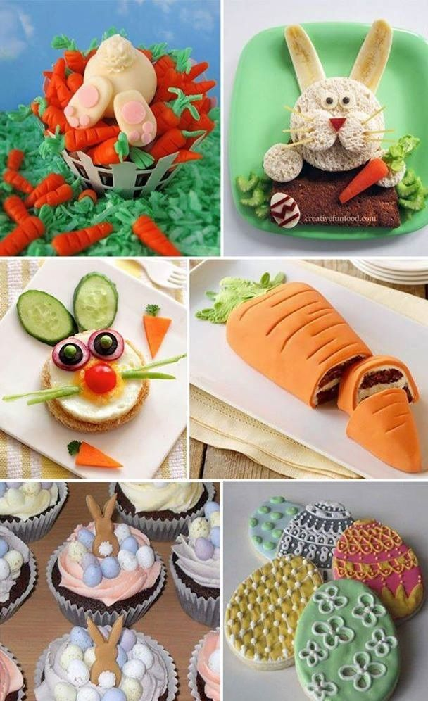 Creative Ideas For Your Easter Brunch Holidays Pinterest