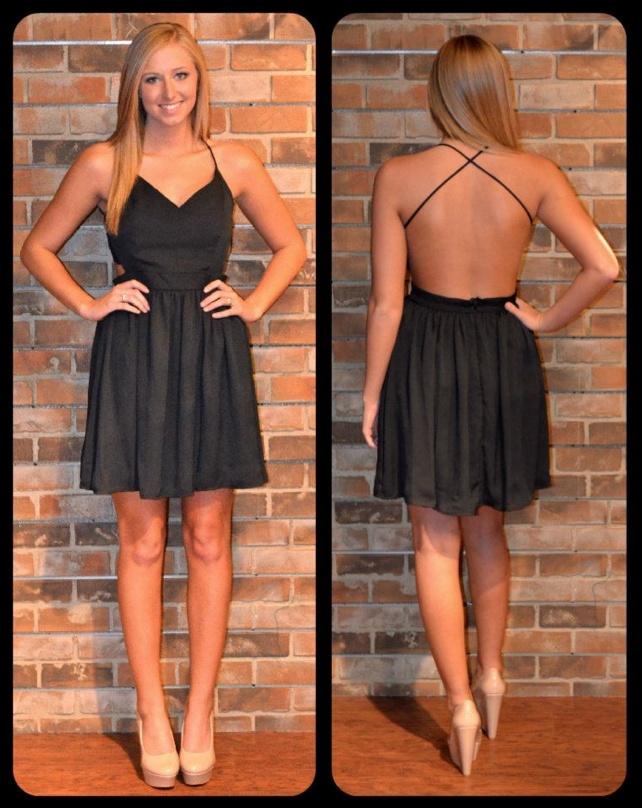 Little black backless dress beauty amp fashion pinterest