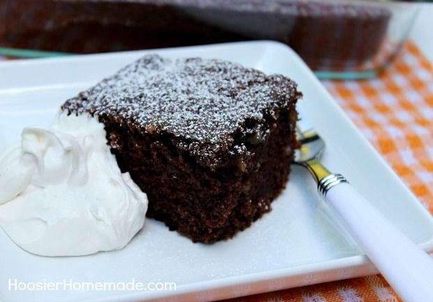 Chocolate Zucchini Cake ( used coconut oil in place of vegetable oil ...