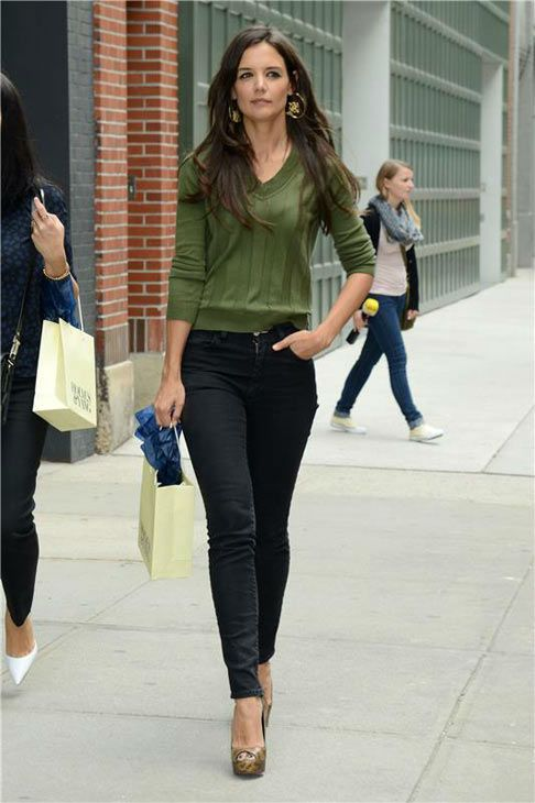 pin by judi nu on katie holmes street style pinterest