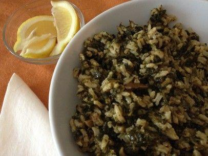 spinach and rice / spanakorizo | savory | Pinterest