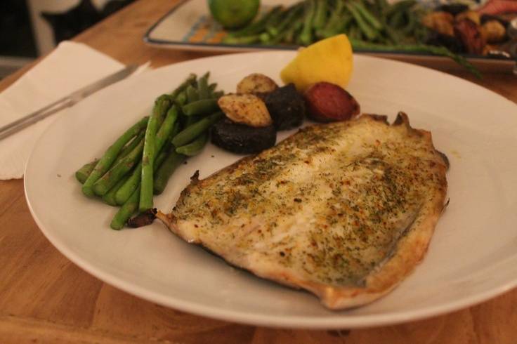 Baked Trout. | Cafe de Missy & Tino! | Pinterest