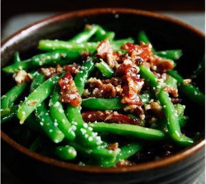Green Beans with Bacon and Pecans | Side Dishes | Pinterest