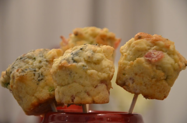 Blue cheese,ham & celery muffins   From the Orange Kitchen   Pinterest