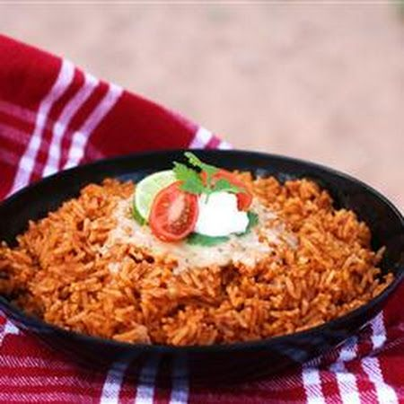 this mexican rice tonight and it was really good i used instant rice ...