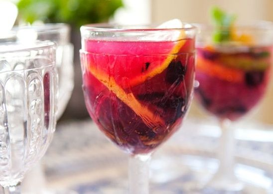 Blueberry Smash   Drinking Around The World   Pinterest