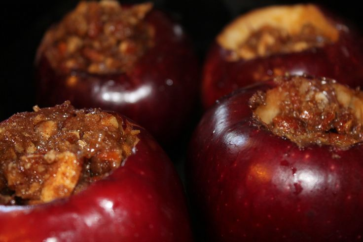 butter and 1 tsp cinnamon Add a spoonful of Nutella into each apple ...