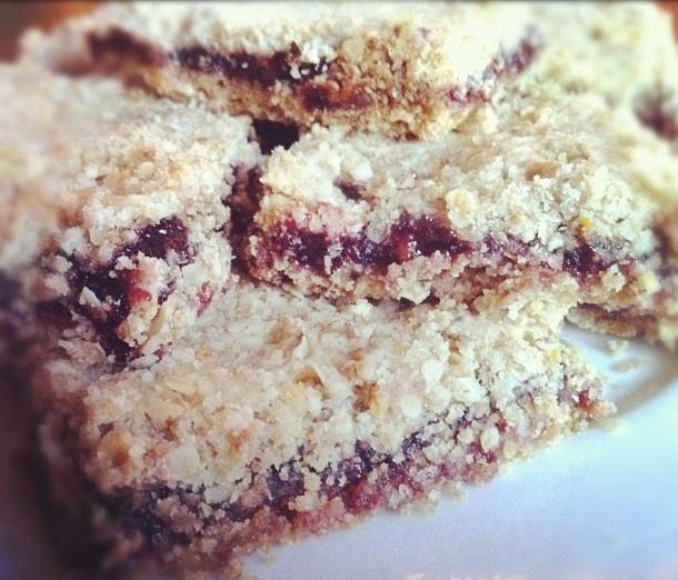 Oatmeal Raspberry Bars | Favorite Recipes | Pinterest