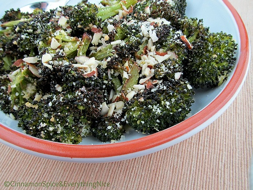 Roasted Lemon Parmesan Broccoli | Yummy | Pinterest