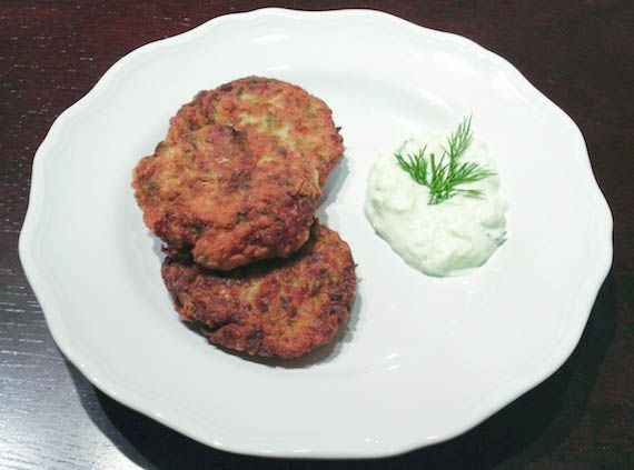 Kolokythokeftedes (Κολοκυθοκεφτεδες) Fried zucchini ...
