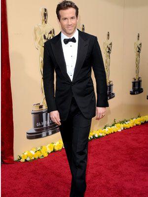 Ryan Reynolds Tux