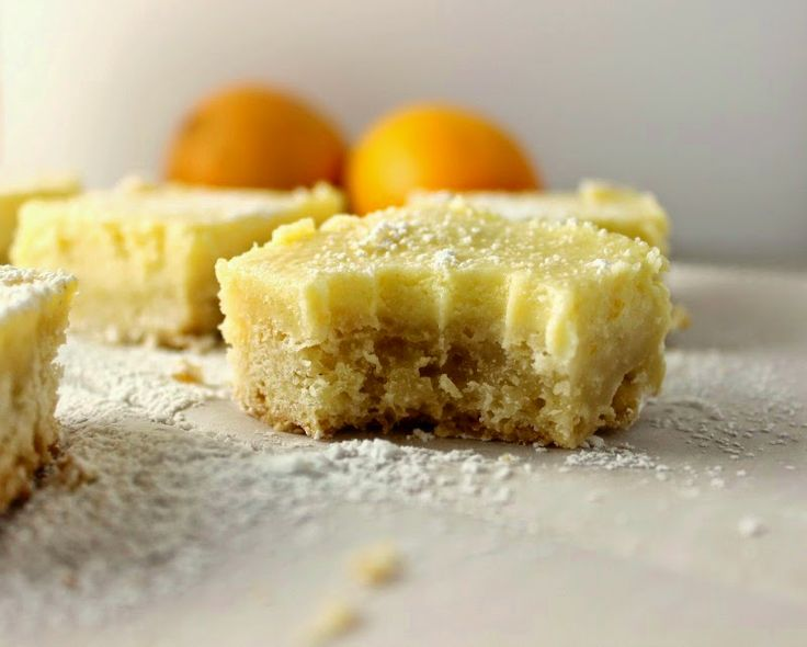 Meyer Lemon Cheesecake Bars: a nice twist on the traditional lemon bar ...