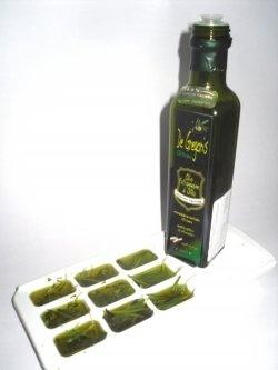 Oil & Fresh herbs ice cubes   Recipes   Pinterest