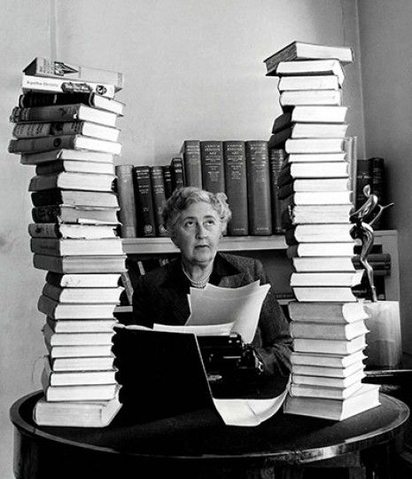 Agatha Christie - Writer (Hercule Poirot, Miss Marple, etc)