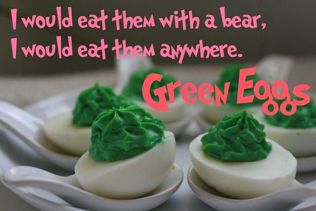 How to make Dr Seuss green eggs. | RECIPES - Foods and Drinks | Pinte ...