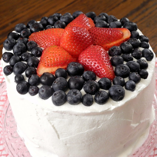 """From Calculu∫ to Cupcake∫: Watermelon """"Cake"""" for the Fourth of July"""