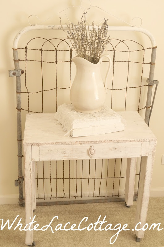 White Lace Cottage: A Little French Pink