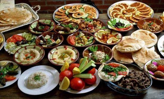 Lebanese mezza gourmet food recipes pinterest for Arabic cuisine food