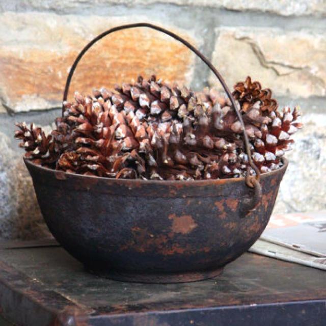 Rustic winter decor Rustic Home Pinterest