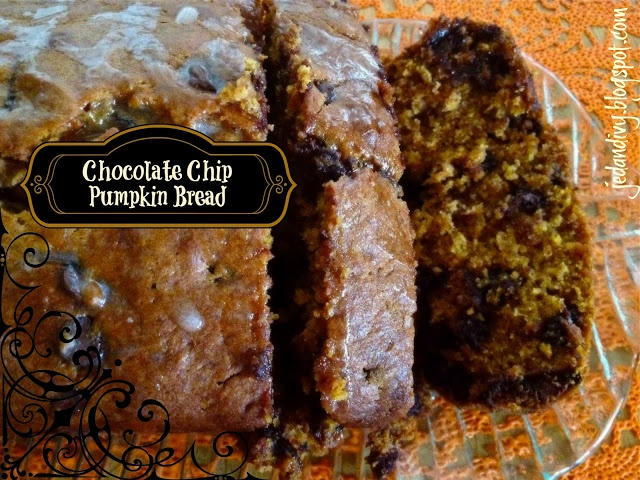 Chocolate Chip Pumpkin Bread | Food | Pinterest