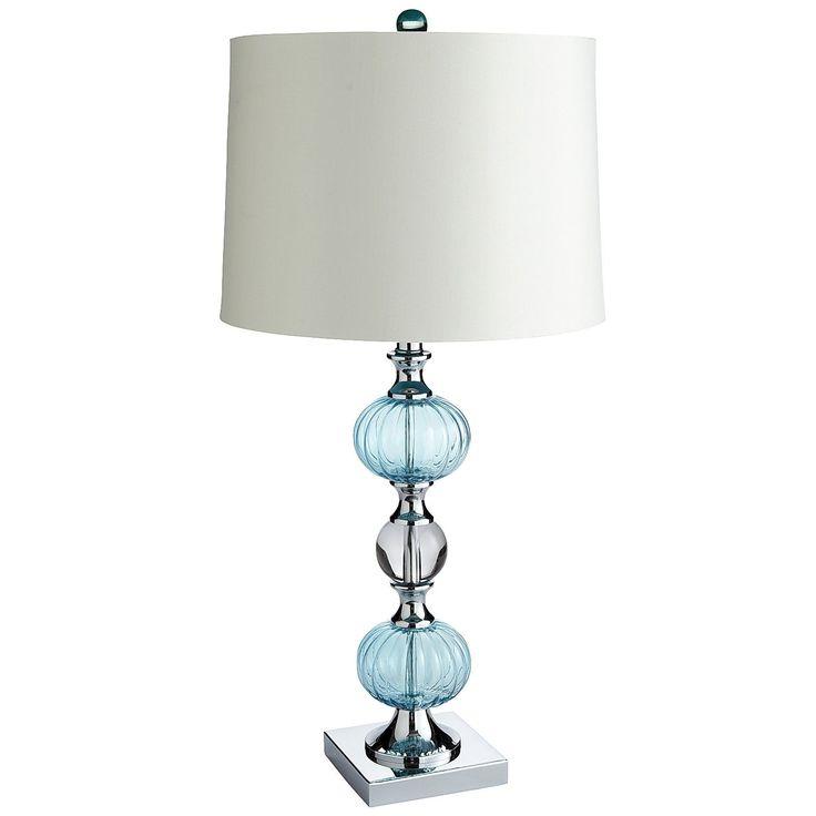 pier 1 aqua bubble table lamp pier 1 things i love. Black Bedroom Furniture Sets. Home Design Ideas