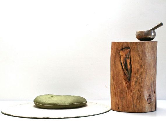 how to make a tree stump end table | Online Woodworking Plans
