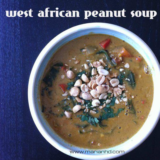 West African Groundnut (Peanut) Soup | Food ideas | Pinterest