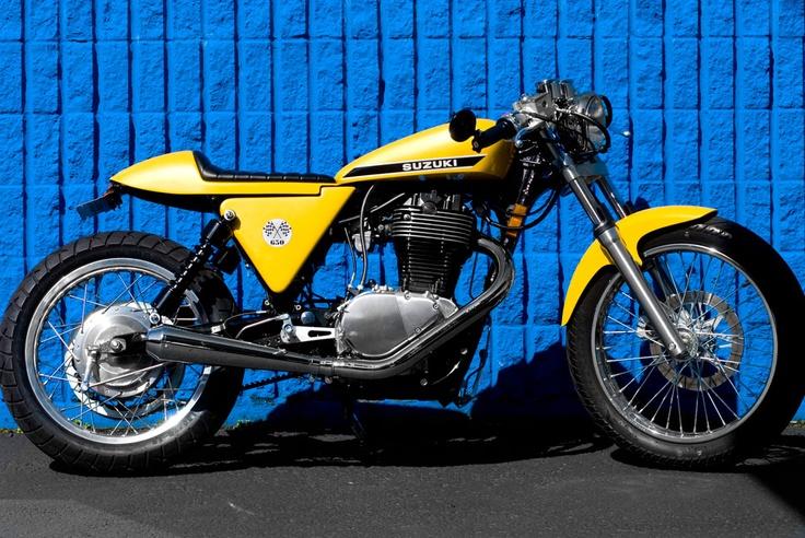 Suzuki Boulevard S40 Cafe Racer   www.imgkid.com - The ...